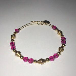 Alex & Ani Pink Bead Bracelet